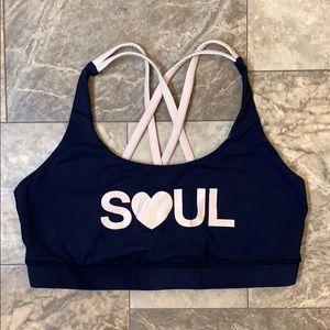 RARE Lululemon Soul Cycle Love Strappy Sport Bra